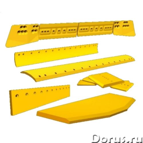 Ножи отвалов МТЗ-80/82, ДТ-75 в Волжском - Запчасти и аксессуары - (840.180.12 ст.65) Нож переднего..., фото 1